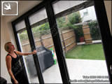 integral blinds with rapid raise and lower