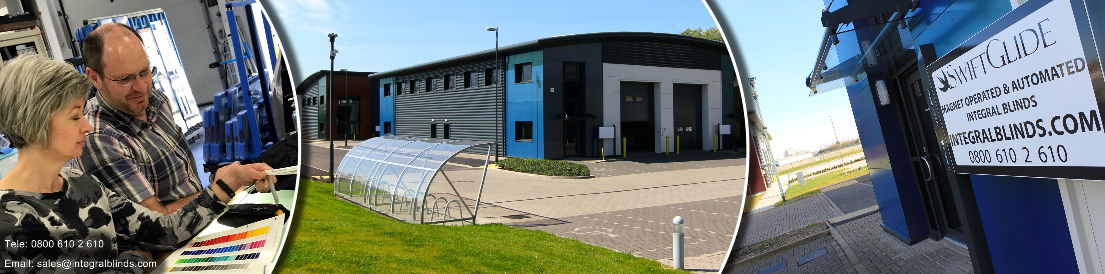 Integral Blinds Ltd - New Factory & offices