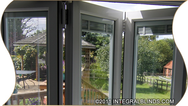 Bifold Doors With Integral Blinds Slideshow